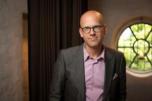Andreas Ekström, kulturjournalist på Sydsvenskan, skriver om att hitta. Bild: Rikard Westman