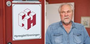 Rolf Meiding är ordförande för Hyresgästföreningen Sala-Heby.