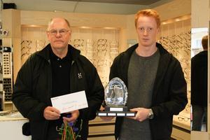 Sören Börne och Axel Persson vann midsommargolfen som gick av stapeln dagen innan midsommarafton.