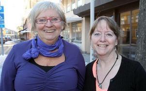 Vi måste tänka på vilken sorts samhälle vi vill ha Kerstin Bergman och Syvonne Nordström på Länsstyrelsen. FOTO: KURT KVICKER