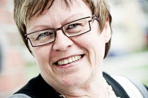 Elvy Söderström, ordförande samarbetet Botniska korridoren. Bild: Leif Wikberg.