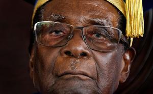 Robert Mugabe slogs ursprungligen mot sociala orättvisor men utvecklades till en despot. Foto: Ben Curtis.