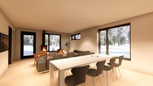 Här är visionerna för hur det ska se ut invändigt. Foto: Johan Skoog arkitektkontor.