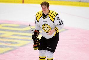 Anton Rödin skadades efter en tackling i ryggen 2015. Bild: Robert Granström / TT