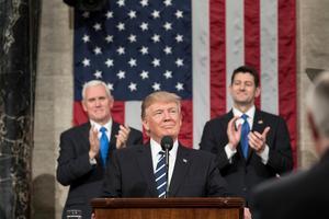 Blir Donald Trump dödsstöten för hoppets geografi när han raserar den amerikanska miljövård som det egna partiet Republikanerna i konservativ och naturvårdande anda byggt upp? Foto:  White House Photo by Shealah Craighead