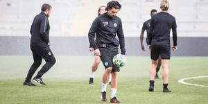 Diego Montiel är hemma och tränar med VSK efter att ha lämnat Belgiska KFCO Beerschot Wilrijk.