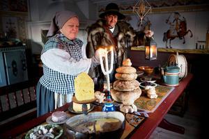 Jultraditioner visas varje år på länsmuseet på Murberget.