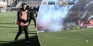 Nordin Gerzic gillade inte vad han såg i cupmatchen mellan IFK Göteborg och Gais.