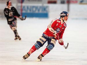 Igor Gapanovitj, här i Edsbyn under säsongen 1997/1998.