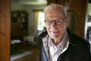 Gunnar Hedbys, 89, kommer att gå till Tegera Arena på lördag för att fira Leksands IF:s 100-årsjubileum.