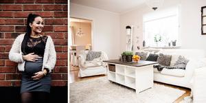 Träning, makeup och en hel del familj. Cecilia Edlund i Sollefteå har över tolv tusen följare på Instagram och samarbetar bland annat med Sollefteå kommun.