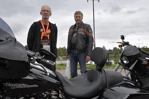 Anders Svensson, Enånger och Mikael Gustafsson, Nusnäs, ska se till att träffen fungerar och att alla finner rätt väg.