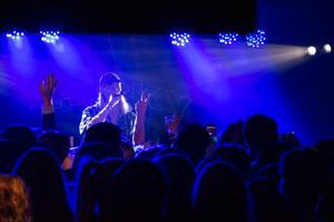 Den 12 juli uppträdde Fricky på premiären av O'Learys Sommaronsdag i Örnsköldsvik. Foto: Angie Gray