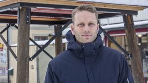 Marknadsansvarig Fredrik Persson är nöjd med årets upplaga av Engelbrektsloppet.