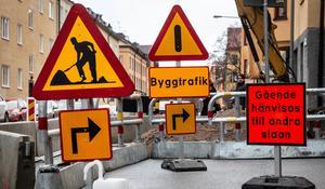 Snart blir det här en vanlig syn på gatorna i central Örebro. Foto: Helena Landstedt/TT