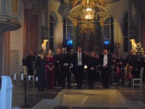 Georg Friedrich Händels Messihas i  Härnösands Domkyrka