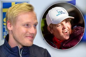 Victor Öhling Norberg och flickvännen Anna Holmlund ska på Idrottsgalan i januari. Bilder: TT Nyhetsbyrån.