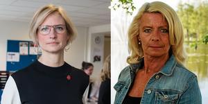 Åsa Eriksson (S) och Pia Nilsson (S), riksdagsledamöter.