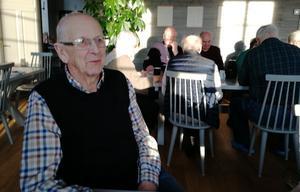 På onsdagen blev det födelsedagsfest för Olle Rosell på Stenebo. Foto: Anna-Britta Bergman