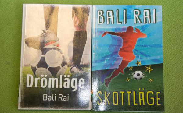 Bali Rai har skrivit böckerna Drömläge och Skottläge.