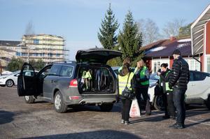 Missing People hade ett 20-tal personer på plats i Avesta under helgen för att leta efter den försvunna kvinnan.