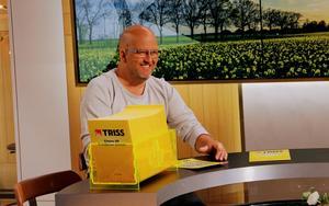 Johan Ohlin, Borlänge, vann 100 000 kronor på Triss.Foto: Svenska Spel