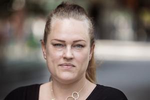 Vänsterpartiets toppkandidat Linda Sjögren.