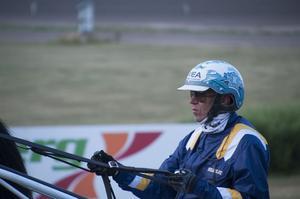 Örjan Kihlström Efter segern i Norrlands Grand Prix.