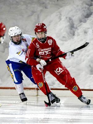 Malin Persson blev tremålsskytt när Söråker fick se sig besegrat mot Västerås.