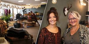 Den nya kläd- och inredningsbutiken Affair i Falun ägs av Elina Eriksson och mamman Ulrika Erickson.