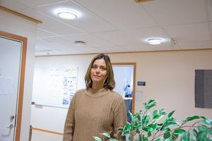 Ylva Drevstad, områdeschef Psykiatrin.