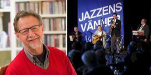 Montage: Jazzens orförande Claes Tillander vill ger mer jazz åt folket i sommar.