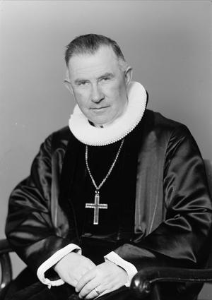 Biskop Eivind Berggrav. Foto: Ernest Rude