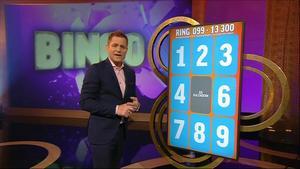 Rickard Olsson leder Bingolotto i TV4. Foto: TV4
