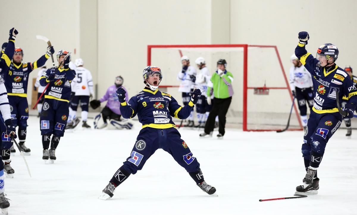 """Segervrålet i superderbyt – Forsell stor matchvinnare när Falu BS säkrade kvalplats: """"Glad att vi verkligen vågade"""""""