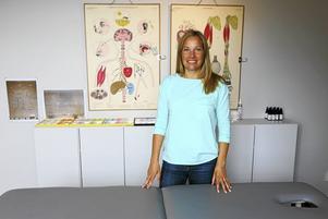 Stina Garp är nyutbildad kinesiolog med mottagning på Norra Skeppsbron.