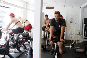 Första träningsveckan med gänget – en tuff sådan för Dominik Furch.