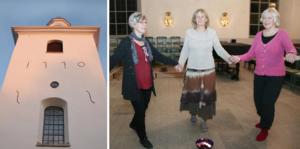 Förra veckan drog Ingeborg Lindqvist Torstensson och Karin Fjellstjärna i gång Heliga danser och kristen djupmeditation i Viby kyrka. Liselotte Zika var en av deltagarna. Hon fick mersmak.
