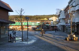 Ånge är en urtråkig byhåla, tycker elever från Bobergsgymnasiet. Arkivbild: Jan Olby