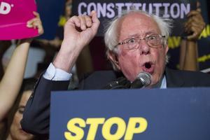 Bernie Sanders – ett av vänsterns stora namn i USA under senare år. Bild: TT