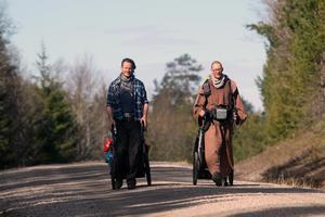 Heiko Gärtner och Franz von Bujor har vandrat genom Europas länder i över fyra år.