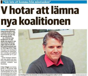 Nya Ludvika Tidning den 2 februari 2015.