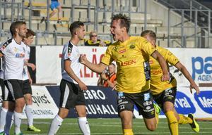Prodell kom till Elfsborg 2014 efter en misslyckad utlandssejour i Belgien. I Boråslaget har 30-åringen varit en pålitlig målskytt. Men den här säsongen har han fått ont om speltid. Foto: Conny Sillén / TT