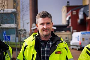 Andreas Borg, arbetschef på Österling Bygg, är glad över att man vann upphandlingen på drygt 15 miljoner kronor.