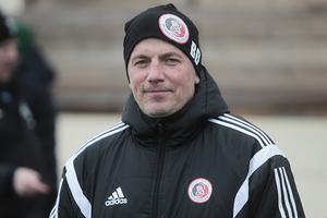 Benny Dahlin är tränare för Hudiksvalls FF som slutade femma i division 2 norra Svealand förra säsongen.