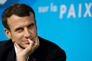 Frankrikes president Emmanuel Macron. Foto: Ludovic Marin/AP Photo