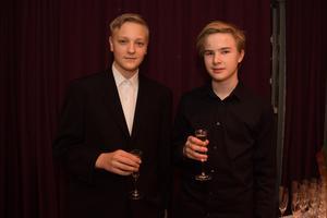 Joshua Sannfridsson och Axel Olsson.