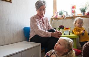 Carina Hedqvist har arbetat som dagmamma ända sedan 1990-talet.