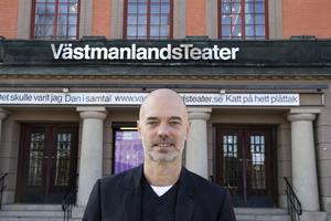 Niklas Hjulström, teaterchef för Västmanlands teater.