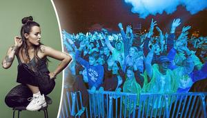 20160702 Västerås festival DJ, John de Sohn håller högt tempo house cityfestivalen publikFoto Peter Krüger